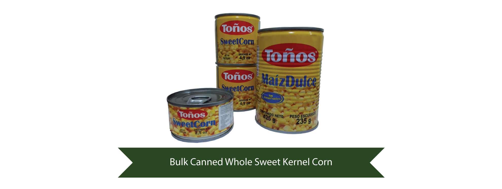 Bulk Sweet Corn